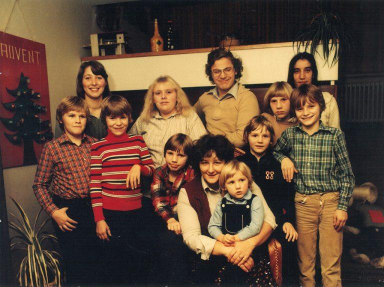 Ida Dunkels Kinderdorffamilie feiert Weihnachten